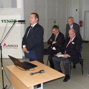 AGCO-AXIAL FUSE LABORATORY átadása